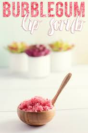 diy bubblegum lip scrub hairspray and