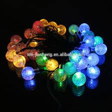 Colored String Lights Colorful Led Solar Fairy Lights Commercial Grade String Lights Led Outdoor Solar String Lights Buy Solar Power Fairy Light Solar Christmas Crystal