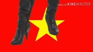 Bước lên lá cờ việt nam / เหยียบธงชาติเวียดนามอัปรีย์ประเทศจัญไร - YouTube