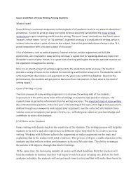 of stress essay causes of stress essay