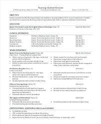 Good Objective For Nursing Resume Resume Web