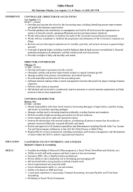 ... Controller Director Resume Sample as Image file