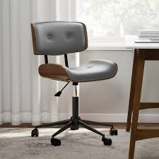 modern wood office chair. Beautiful Office Shop Carson Carrington Leksand Simple Midcentury Modern Office Chair   Free Shipping Today Overstockcom 19529717 With Wood N