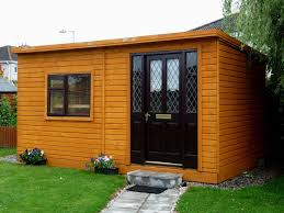 outside office shed. office 2 garden shed outside p