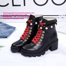gucci leather ankle boot with sylvie web gucci boots gucci high top shoes gg sho 1