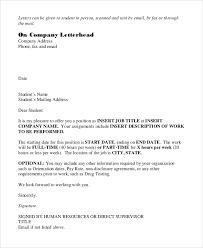 Offer Letter Acceptance Mail Format Offer Letter Email Magdalene Project Org