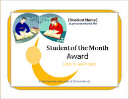 Student Of The Month Certificate Templates 15 Customizable Certificate Templates For All Fields