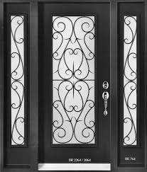 grand glass door inserts wrought iron decorative glass door inserts divine door designs