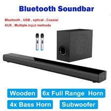 Loa Soundbar Trầm 5.1 Bluetooth Hát Karaoke AMOI L5 Tặng 02 Micro Không Dây  cao cấp