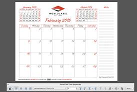 Fillable Calendars 2015 2015 Editable Fillable Pdf Calendar Template From Worldlabel