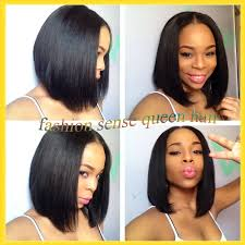Ideas About Weave Bob Hairstyles With Middle Part Cute