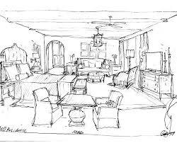 Easy Interior Design Sketches With Interior Design Bedroom Sketches For  Ideas