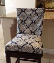 dinning chair covers rustic indigo blue gray and white seat cushion two piece chair covers chair covers dining chair seat covers washable