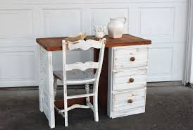 shabby chic paint colorsShabby chic writing desk with drawers with white finish  Home