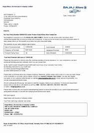 life insurance policy template lovely car insurance certificate template with bajaj allianz car