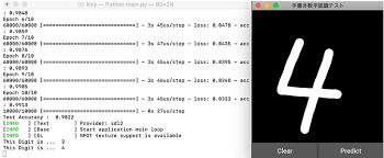 前半kerasとkivyを使って簡易手書き数字認識アプリを作ってみよう