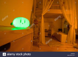 Night Light For Children S Bedroom Night Light In A Childrens Bedroom Stock Photo 62043296