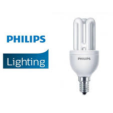 PHILIPS GENIE 8W E14 ENERGY SAVER BULBS ...