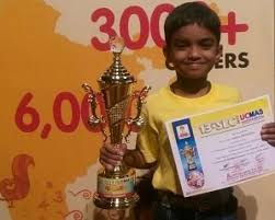 ABACUS CHAMPION OF SSHS – AARON FERNANDES|St. Stanislaus High School