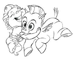 Mom And Baby Elephant Coloring Pages Printable Child Tacky The