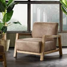 rustic mid century modern living room. Mid Century Modern Rustic Living Room Furniture - Taupe Brown Faux Leather Upholstered Accent Danish Arm Lounge Chair Includes ModHaus Pen