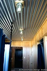 sheet metal ceiling painted corrugated85 painted