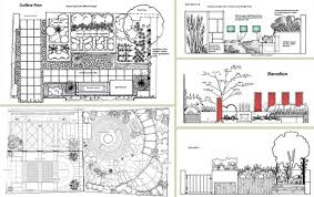 Small Picture Garden Design Drawings Outdoor Decorating Ideas