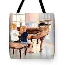 the sister duet tote bag