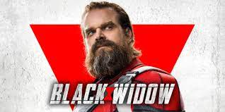 David Harbour on Black Widow and ...