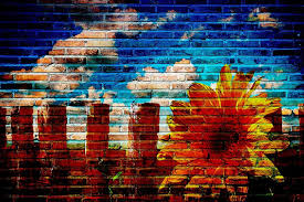 hd wallpaper concrete brick wall with