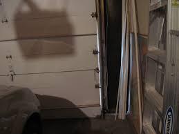 garage door gap