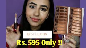 best concealer for dark circles even skin tone makeup revolution conceal define review