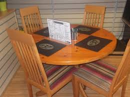 little country kitchen round tables perfect for lots of room