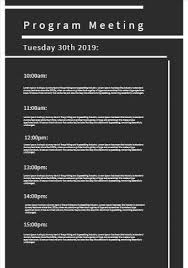 Birthday program templates are generally used by the elite people who are throwing a refined and stylish party for their loved ones. Design Your Own Conference Programs Quickly And Easily