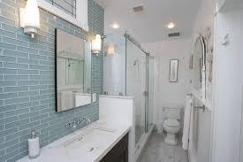 Glass Tile Bathroom Designs Impressive Decorating Design
