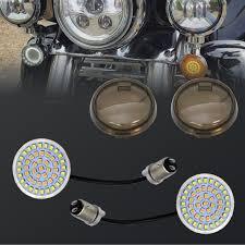 Bullet Lights For Harley Davidson 1157 Bay15d High Power 2835 Led Bulb Front Turn