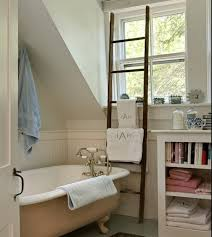 towel hanger ideas. Interesting Ideas View In Gallery Towel Rack Ladder Bathroom Inside Towel Hanger Ideas L