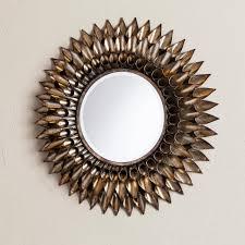 southern enterprises danile round decorative wall mirror