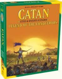 CATAN - <b>Legend of the</b> Conquerors | Catan.com