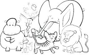 Coloring Pages Of Wild Animals Baby Wild Mal Coloring Pages