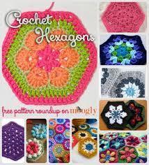 Hexagon Crochet Pattern Enchanting Happy Hexies 48 Free Crochet Hexagon Patterns Moogly