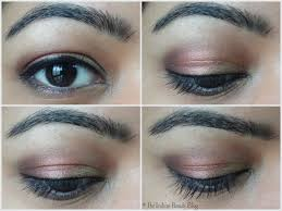 cranberry gold eye makeup 2