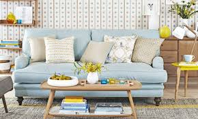 blue living room decorating ideas. summer living room ideas to lift your mood blue decorating