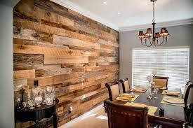 reclaimed barn wood accent walls