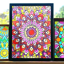 faux stained glass window patterns picture interior design source fake panels and also free printable minecraft