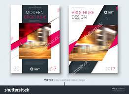 Modern Brochure Design Pink Brochure Design Modern Brochure Template Brochures Brochure 12