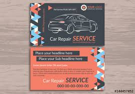 Automotive Services Business Card Layouts 3 Buy This Stock Template