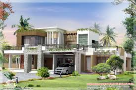 contemporary house plans with photos | 2800 sq.ft. modern contemporary home  design
