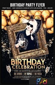 Birthday Party Flyer 22664926 Freepsdvn