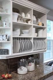 Kitchen Rack 65 Ideas Of Using Open Kitchen Wall Shelves Shelterness